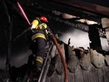 Płonęły domy na Powiślu. Jedna osoba w szpitalu