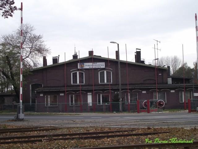 Parowozownia Wolsztyńska liczy ponad 100 lat. Cały czas jest czynna. Fot.Dorota Michalczak