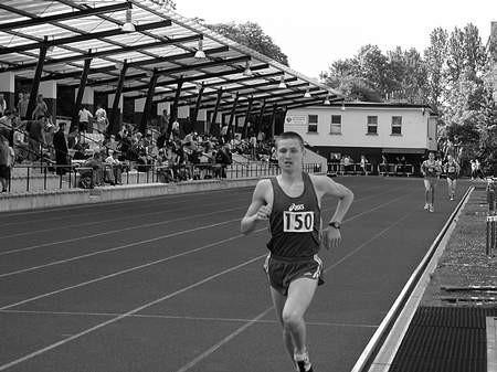 Piotr Pałka zajął pierwsze miejsce na dystansie 6 km. / KRZYSZTOF SULIGA