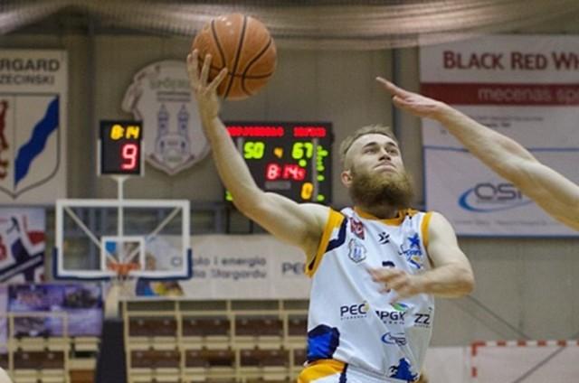Bartłomiej Wróblewski rzucił 8 pkt.