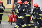 Burze w powiecie świeckim. Strażacy pomagali w ewakuacji obozów harcerskich