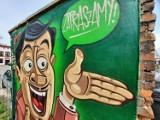 Nowy mural Petiona w Kluczborku. Powstało ich już 18 - zobacz wszystkie! [ZDJĘCIA]