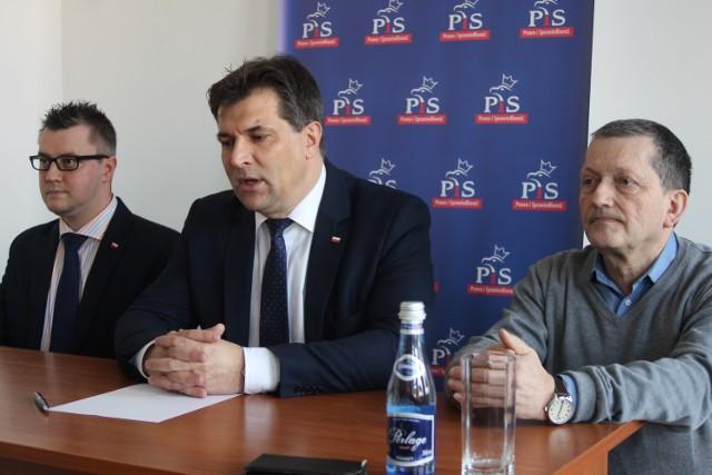 Od lewej: Łukasz Starczewski, Piotr Kaleta oraz Andrzej Skrzypczak