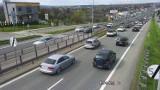 Zakopianka korkuje się po długim weekendzie majowym. Sytuacja drogowa na trasie Zakopane - Kraków [MAPY, ZDJĘCIA] 3.05