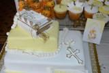Takie są torty na przyjęcia z okazji Pierwszej Komunii Świętej. Zobacz piękne zdjęcia