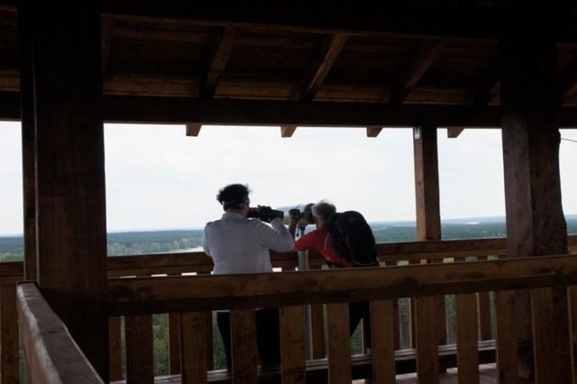 Wieża widokowa Joanna liczy ok. 40 metrów wysokości. Zbudowana została z drewna. To atrakcja turystyczna w okolicy Sławy i Nowej Soli