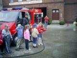 Zbąszyń - lekcja edukacyjna w remizie strażackiej