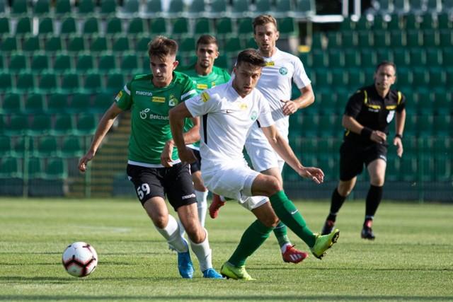 """Okazję na pierwszego gola po powrocie do Bełchatowa miał """"Zdybo"""", który zmarnował rzut karny"""