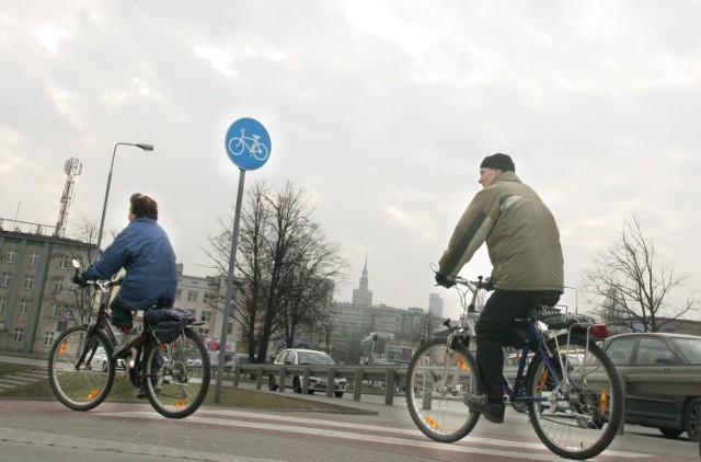 W stolicy powstaje coraz więcej ścieżek dla rowerzystów