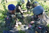 Uczniowie Zespołu Szkół w Zduńskiej Woli Karsznicach szkolą się na poligonie ZDJĘCIA