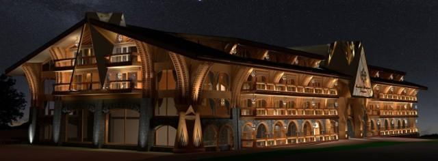 Tak ma w przyszłości wyglądać hotel Daglezja - zmieni nazwę na Mountain Diamond Zakopanem