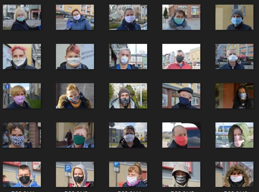 Przed rokiem zrobiliśmy historyczne zdjęcia mieszkańców Bytowa. Historyczne, bo w maseczkach