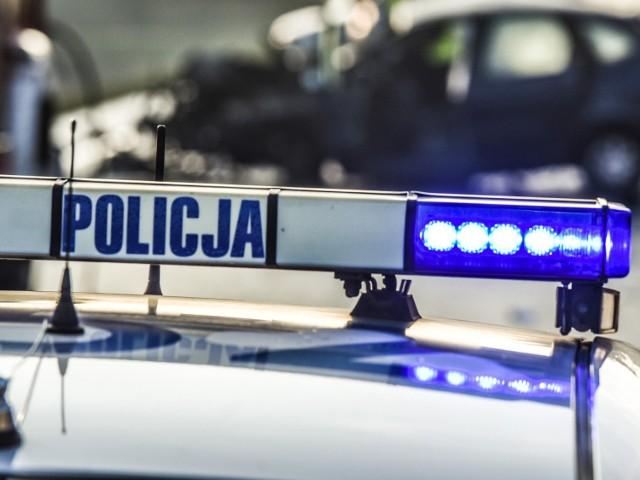 Wypadek na DK 91 w Żyglądzie. Dwie osoby trafiły do szpitala