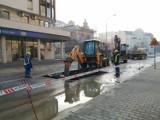 Duża awaria i paraliż w centrum Poznania. Zamknięta ulica Garbary!