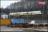 Wałbrzych: Niewielkie problemy na placu budowy przystanku kolejowego - ZDJĘCIA I WIZUALIZACJE