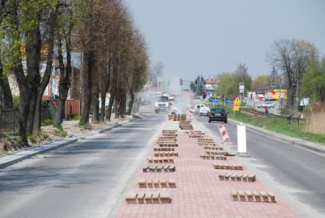 W tym roku miasto realizuje kilka inwestycji, między innymi remontuje ulicę Solskiego