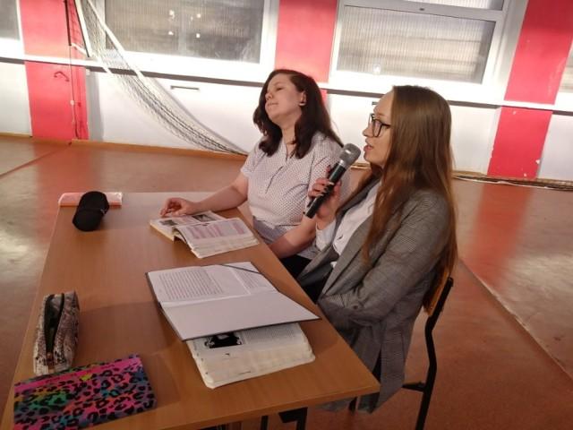Wyjątkową lekcję historii lokalnej przeprowadzono w ZSCKP w Grubnie
