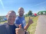 Damian Witkowski sportowiec-amator zarażający dobrą energią innych