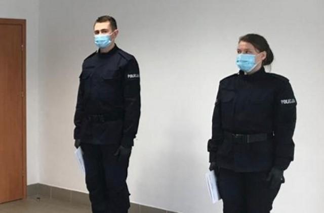 Nowi mundurowi, po kilkumiesięcznym przeszkoleniu, dołączą do swoich kolegów i koleżanek z Komendy Powiatowej Policji w Żninie.