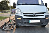 Tczew. Policjanci pracowali na miejscu potrącenia cyklistki