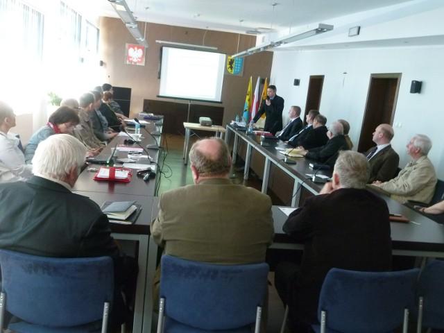 Propozycje zmian zaprezentowane zostały podczas wspólnego posiedzenia w Starostwie Powiatowym w Bytowie