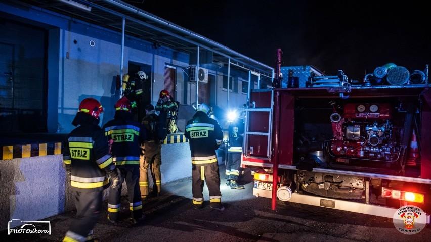 Strażacy walczyli z pożarem 4 godziny