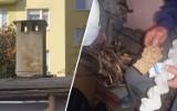 Palili śmieci na Szwederowie w Bydgoszczy. Mieszkańcy wezwali straż