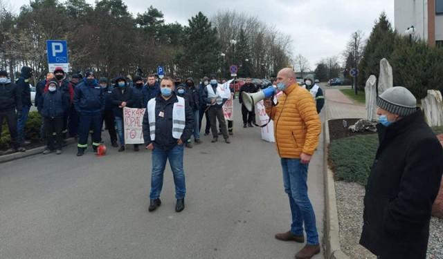 W spółce Betrans Bełchatów od 10 dni trwa strajk