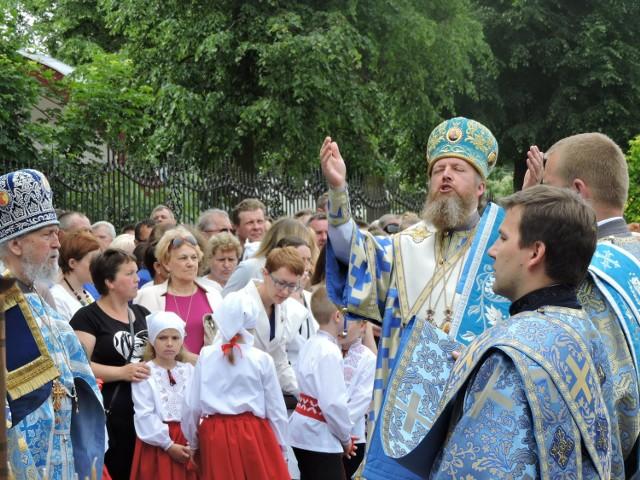 Uroczystościom przewodniczył biskup Grzegorz