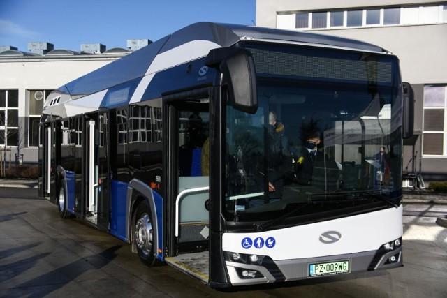 W Krakowie po raz pierwszy zaprezentowano autobus zasilany wodorem.