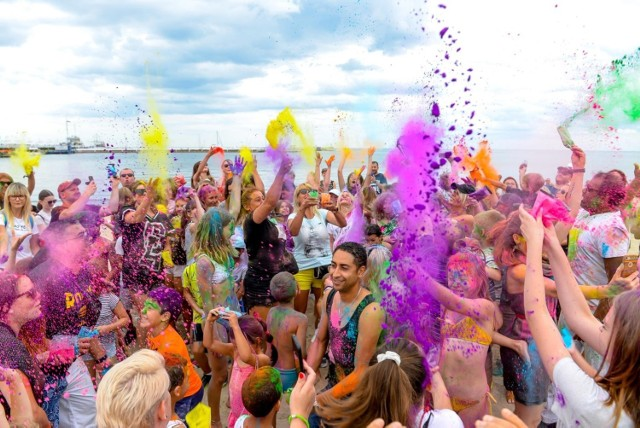 Festiwal Kolorów w Sopocie