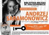 Andrzej Saramonowicz przyjedzie do inowrocławskiej biblioteki