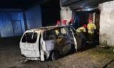 Mogilno - Pożar auta w budynku gospodarczym w Gozdaninie pod Mogilnem. Zobaczcie zdjęcia