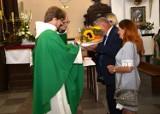 Chocz. Dożynki w parafii p.w. św. Andrzeja Apostoła w Choczu. Mieszkańcy dziękowali za tegoroczne plony
