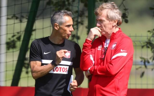 Paulo Sousa i Zbigniew Boniek