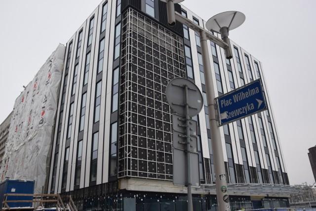 Budowa hotelu Mercure przy Młyńskiej w Katowicach