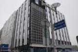 Elewacja hotelu przy Młyńskiej w Katowicach prawie gotowa. Brakuje jeszcze zielonych ścian