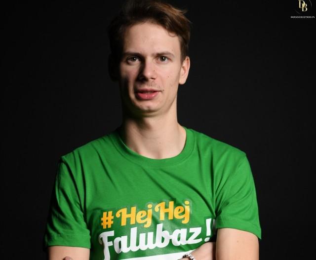 Norbert Krakowiak, junior Stelmetu Falubazu Zielona Góra.