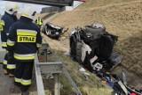 Auto rozpadło się na pół po wypadku na autostradzie A1 w Świerklanach! Kierowca uciekł z miejsca zdarzenia! Zobaczcie ZDJĘCIA