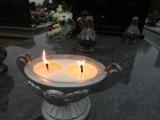 Cmentarz w Trzciance listopadową porą [ZDJĘCIA]