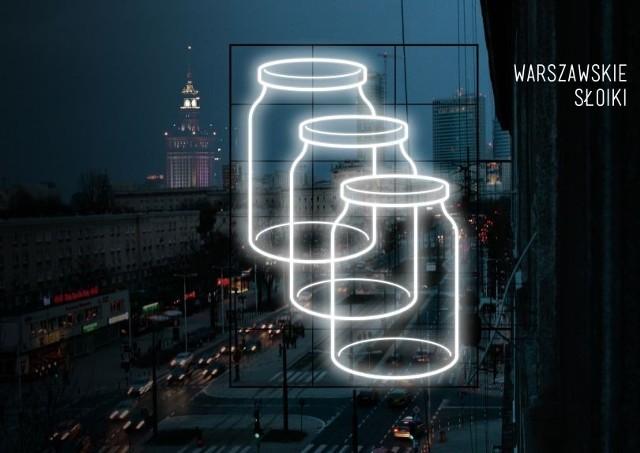 """Designlab: Magdalena Czapiewska, Karol Murlak   Projekt """"Warszawskie Słoiki""""  W Warszawie każdy jest skądś. Od lat miasto przyciąga tych, którym czegoś w rodzinnych stronach brakuje. Przeprowadzają się tu, aby studiować, pracować, tworzyć, robić interesy. Po prostu żyć. Przyjezdni nie tylko korzystają z miasta. Oni je współtworzą. Stanowią o jego tożsamości. Zamiast pogardliwie nazywać ich """"słoikami"""", czas uznać ich wkład we współczesne życie i historię stolicy.  Neon """"Warszawskie Słoiki"""" to żartobliwy pomnik nowych warszawiaków. Projekt przekornie wykorzystuje i oswaja aroganckie określenie, jakim rodowici warszawiacy nazywają przyjezdnych. Poprzez uwidocznienie konfliktu pomiędzy rodowitymi i nowymi warszawiakami, neon ma pogodzić ze sobą obie strony tak, jak kiedyś Warszawska Syrenka jednoczyła mieszkańców prawego i lewego brzegu Wisły.  Internauci mogą oddać swój głos na najlepszy projekt neonu za pomocą specjalnej aplikacji do 15 maja br. pod adresem https://www.facebook.com/NeonMuzeum.  Zobacz koniecznie: Warszawiacy znów kochają stare, ginące neony [ZDJĘCIA]"""