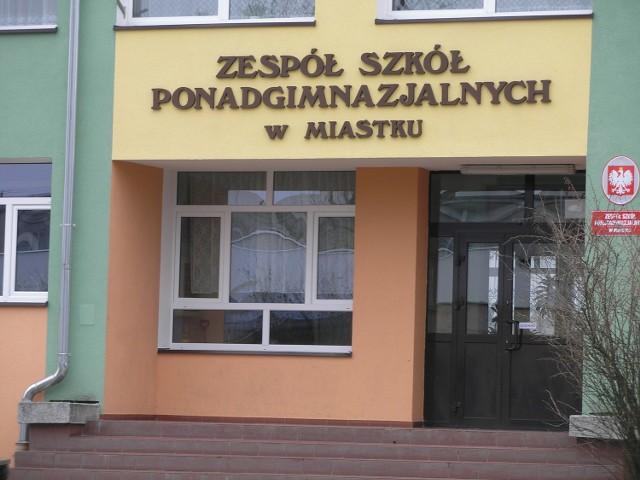 Zespół Szkół Ponadgimnazjalnych w Miastku