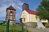Jest dotacja na remont dzwonnicy kościelnej w Wierzchowie koło Szczecinka [zdjęcia]