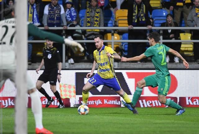 Arka Gdynia w meczu ze Śląskiem Wrocław nie była w stanie zdobyć choćby punktu