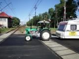W podróży... traktorem przez Polskę zatrzymał się na chwilę w Starym Polu [ZDJĘCIA]