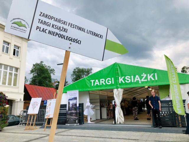 W ten weekend pod Tatry warto było przyjechać z książką. Albo kupić ją na targach zorganizowanych w ramach festiwalu.