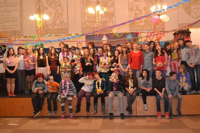 Spotkanie karnawałowe w ZSO nr 1 w Sosnowcu