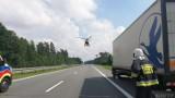 Kolizja na A4 pod Opolem. Były utrudnienia na trasie w kierunku Katowic