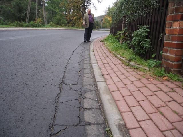 Według radnego Józefa Gajewskiego remont ulic to fuszerka