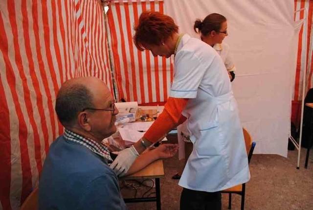 W Profilaktycznym Miasteczku WOŚP będzie można zmierzyć m.in. ciśnienie tętnicze krwi